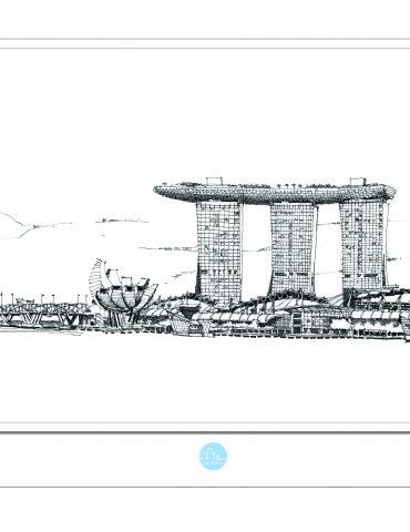 Just Sketch poscard artwork SG5